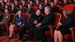Опубликовано видео переговоров лидеров КНДР иКубы