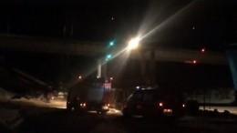 Уголовное дело возбуждено пофакту гибели двух человек при обрушении моста вХМАО