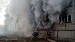 Опубликованы страшные кадры сместа взрыва газа вжилом доме вЕврейской АО
