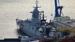 Новейший корвет «Громкий» вышел наиспытания вЯпонское море
