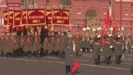 ВМоскве прошла генеральная репетиция легендарного парада 1941 года