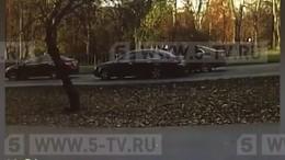 Видео: дерзкое нападение на«нелегального инкассатора» вМоскве
