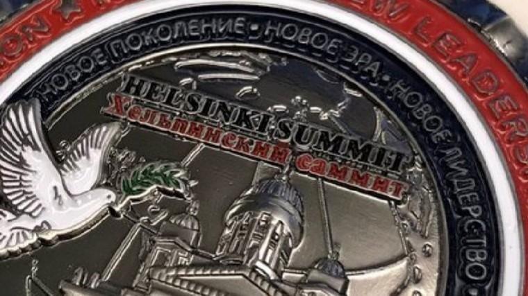 ВСША перестанут продавать «безграмотную» монету спортретами Путина иТрампа