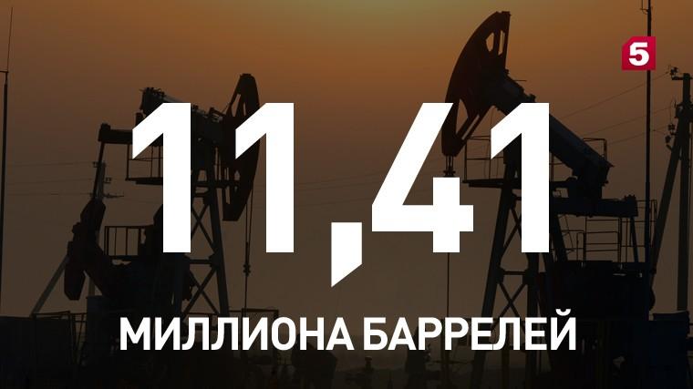 Россия вышла напервое место вмире подобыче нефти