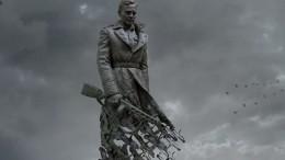 Видео: Автор рассказал оскульптуре тридцатиметрового солдата для Ржевского мемориала