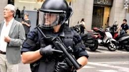 Отомстили: Каталонские сепаратисты сорвали митинг полиции против низких зарплат