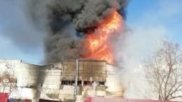 Пожар назаводе вРязани распространился еще на500 «квадратов» почти зачас