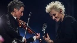 «Яочень заДинку переживала»— Сурганова осовместном концерте сАрбениной