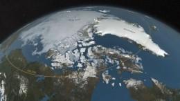 Кратер размером больше Парижа обнаружен под ледником вГренландии