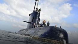Названа причина затопления аргентинской подлодки «Сан-Хуан»