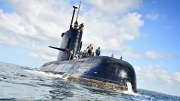 Аргентина неможет поднять затонувшую подлодку «Сан-Хуан»