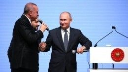 Владимир Путин подчеркнул созидательный характер «Турецкого потока»