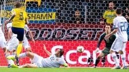 Сборная России проиграла Швеции вматче группового турнира дивизиона B Лиги наций УЕФА