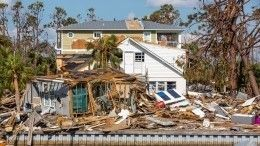 Ураган «Майкл» сдвинул жилые дома вСША
