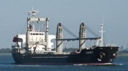 Задержанный Украиной сухогруз Comet покинул порт Мариуполя