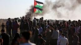Израильские военные открыли огонь попалестинским протестующим