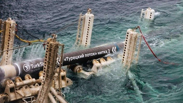 Стало известно, через какие страны Европы пройдет «Турецкий поток»