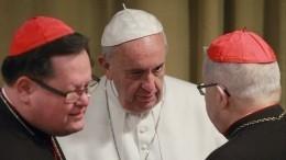 Папа Римский Франциск призвал молиться заизбавление отНибиру