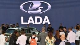 Бренд LADA вошел вТОП самых продаваемых машин 2018 года