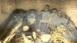 ВЕгипте обнаружена гробница служителя храма Амона XIII–XII веков донашей эры
