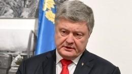Порошенко иСтолтенберг договорились осрочном созыве комиссии НАТО поАзову