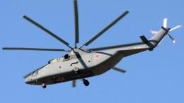 Вертолет Ми-26 совершил жесткую посадку вНАО, погиб человек
