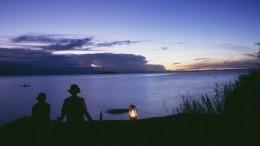 Американский рыбак снял навидео светящийся НЛО