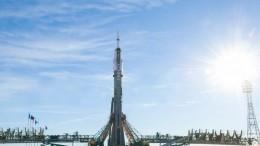 Скосмодрома «Байконур» стартовала ракета-носитель «Союз-ФГ»