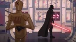 Соцсеть ОКначала эксклюзивный показ нового мультфильма «Звездные войны»