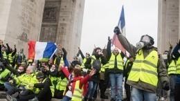 Ввыходные Францию ждут еще более масштабные акции протеста