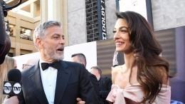Амаль Клуни больше нескрывает своих близнецов