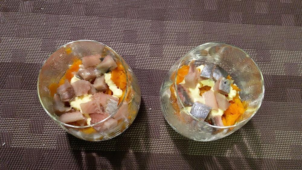 Пошаговый рецепт селедки под шубой