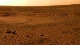 Космическая станция InSight сняла уникальные кадры поверхности Марса