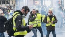Киев нашел виновных впротестах «желтых жилетов» вМоскве