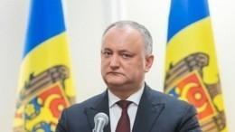 Игорь Додон: статус русского языка вМолдавии будет повышен