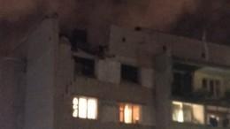 «Крыши нет, окон нет»— очевидец взрыва вВологде