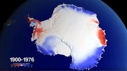 ВNASA показали, как Антарктида теряла ледяную массу запоследние 100 лет