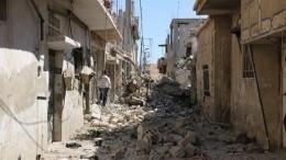 Видео: пять человек стали жертвами взрыва всирийском Алеппо
