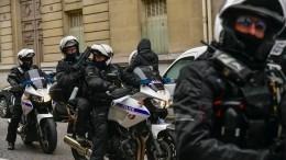 Французские полицейские близки кзабастовке