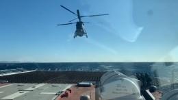 Минобороны показало видео испытаний военного корвета «Громкий»