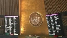 Видео: Генассамблея ООН приняла резолюцию Украины омилитаризации Крыма
