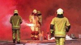 Видео: Пожар вспыхнул нахимическом заводе вБельгии