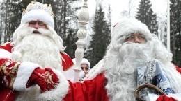 Двойное волшебство: Дед Мороз иЙоулупукки встретятся вЛенобласти
