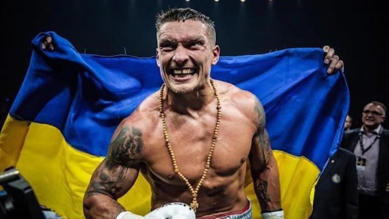 Усик назван боксером года поверсии американского телеканала ESPN