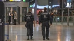 Видео: Ваэропортах Германии объявили угрозу теракта