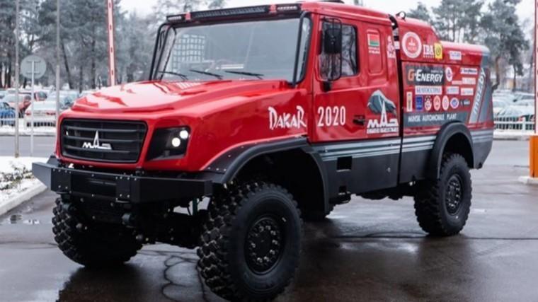 МАЗ показал «самый красивый спортивный грузовик»— фото