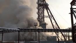 Стала известна предварительная причина пожара наруднике вСоликамске