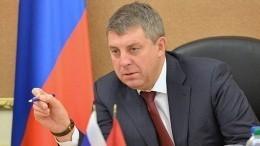 Губернатор Брянщины раскритиковал чиновников изКлинцов