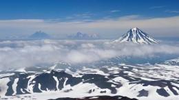 НаКамчатке из-за возможного схода лавин закрыли для посещения склоны вулканов