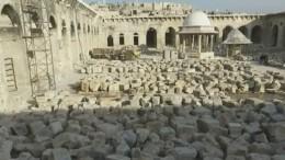 ВАлеппо восстанавливают разрушенную террористами мечеть Омейядов